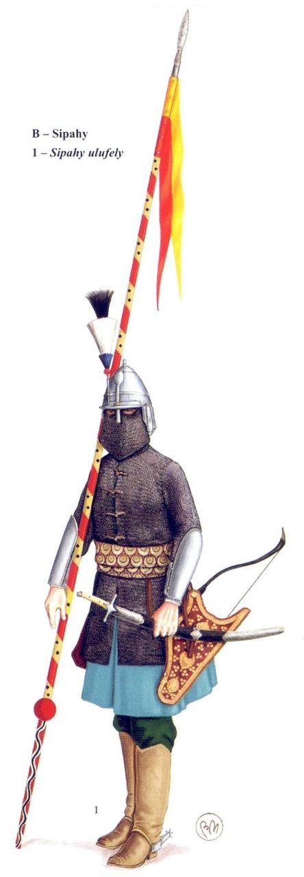 1667 Sipahy, caballería otomana