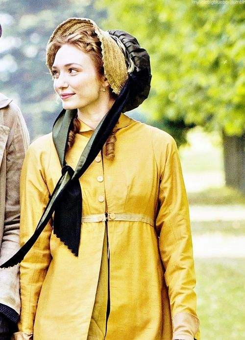 eleanor tomlinson as georgiana darcy in �death comes to