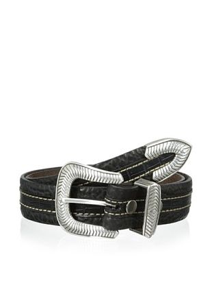 61% OFF Vintage Bison Men's Coloma Belt (Black)