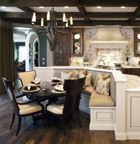 15 Best Images About Kitchen Island Banquette On Pinterest
