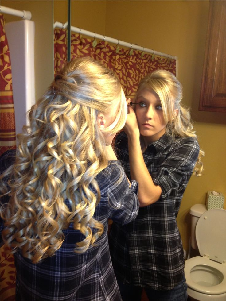Swell 1000 Ideas About Curly Prom Hairstyles On Pinterest Prom Hairstyle Inspiration Daily Dogsangcom