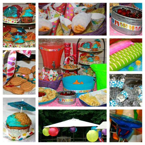 17 Best Images About Swimming Pool Party Ideas On Pinterest Pool Party Decorations Beach