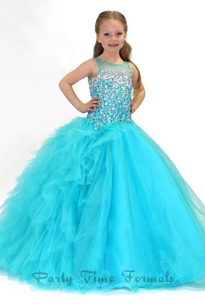 The 24 best girls pageant dresses images on Pinterest   Girls ...