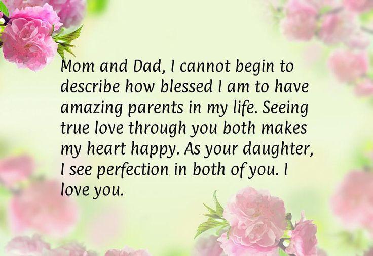 Haluan, että vanhempani voivat elää pitkän ja onnellisen elämän.
