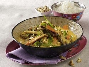 Rotes Rindfleisch-Curry Rezept