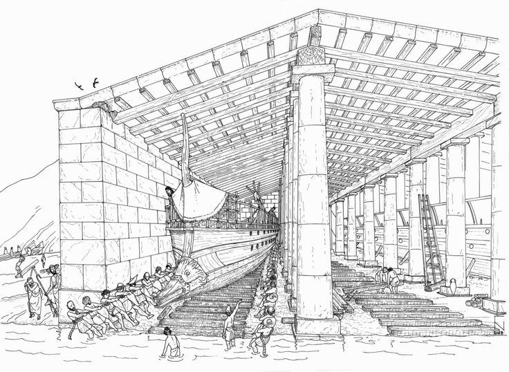 ΜΕΓΑΛΗ ΑΝΑΚΑΛΥΨΗ!Ανακαλύφθηκε Αρχαία Ναυτική βάση στο Μικρολίμανο!
