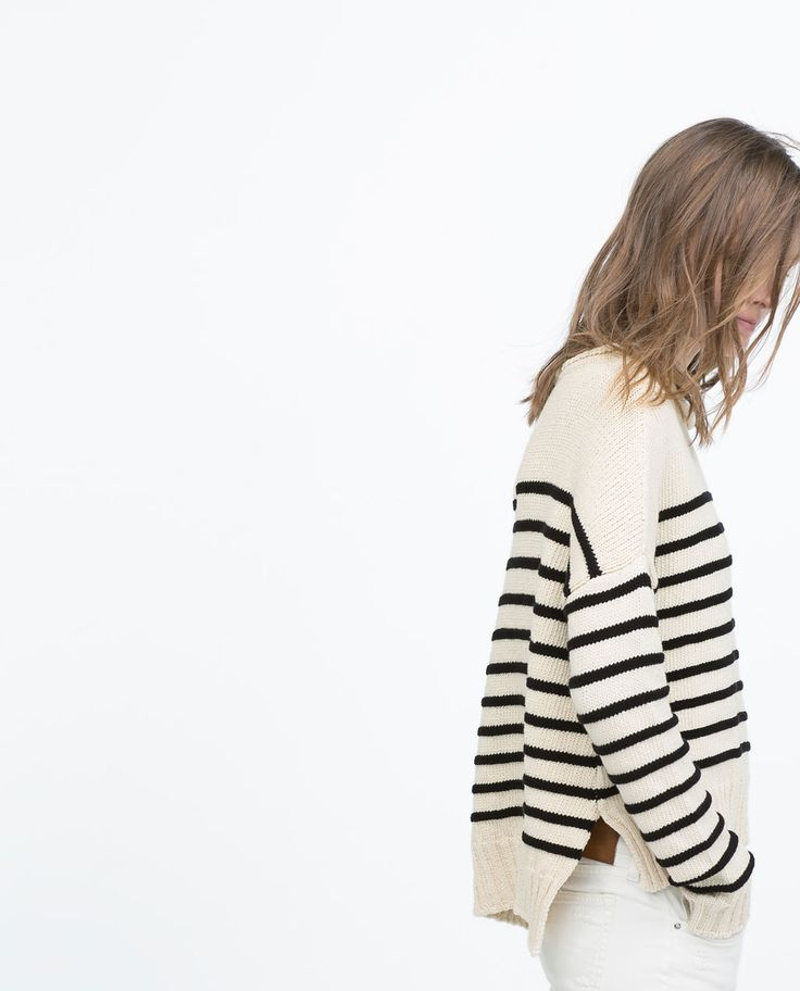 Image 4 of SAILOR STRIPE SWEATER from Zara