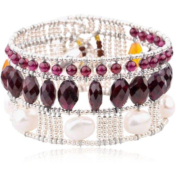Ziio Netti High Bracelet ($395) ❤ liked on Polyvore featuring jewelry, bracelets, ziio and ziio jewelry