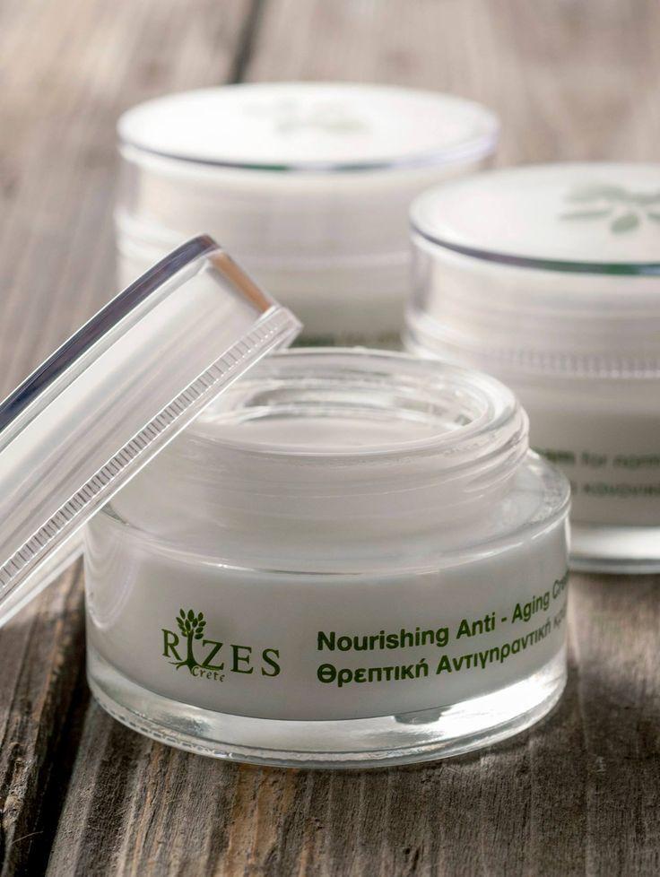 Rizes Crete Cosmetics Nourishing Anti - aging Cream