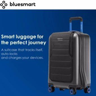 ซื้อเลย  Bluesmart One - Smart Luggage: GPS, Remote Locking, Battery Charger(International Carry-on Size, TSA-Approved) - intl  ราคาเพียง  26,990 บาท  เท่านั้น คุณสมบัติ มีดังนี้ Charge & Track - Battery with 2 USB charging ports cancharge your devices up to six times over. 3G + GPS tracking letsyou locate your suitcase anywhere the world. Weigh - Built-in scale in the suitcase's handle allows you toweigh it through the app. Lock - Remote digital lock means you can lock/unlock thesuitcase…