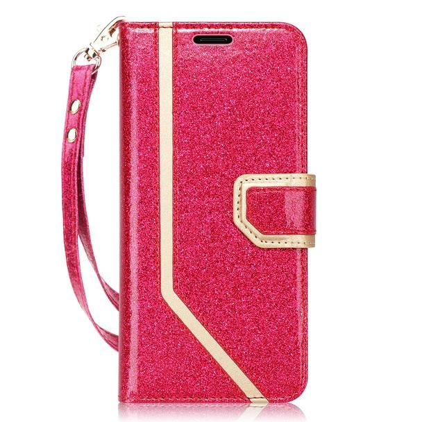 Kickstand Feature and with Prevent Card Information Leaking Technique FYY Case for Galaxy S9 Plus, Inside Makeup Mirror Leather Wallet Case for Samsung Galaxy S9 Plus Black
