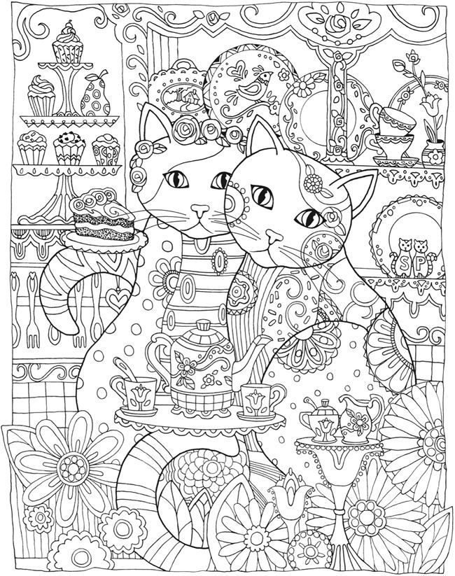 253 best images about coloring pages for adults on pinterest Dover coloring books for adults
