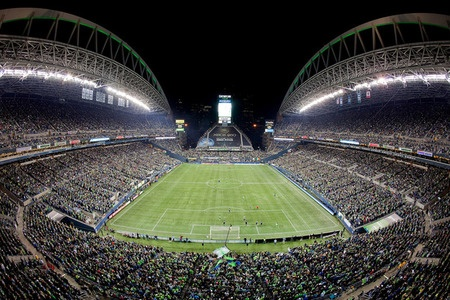Seattle Sounders @ CenturyLink Field (Photo by Otto Greule Jr/Getty Images)
