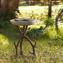 Rustic Bird Baths | Garden Crafts & Garden Decor