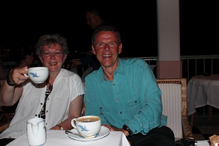 Madeira - Tea on the terrace at Reid's Hotel, Funchal.