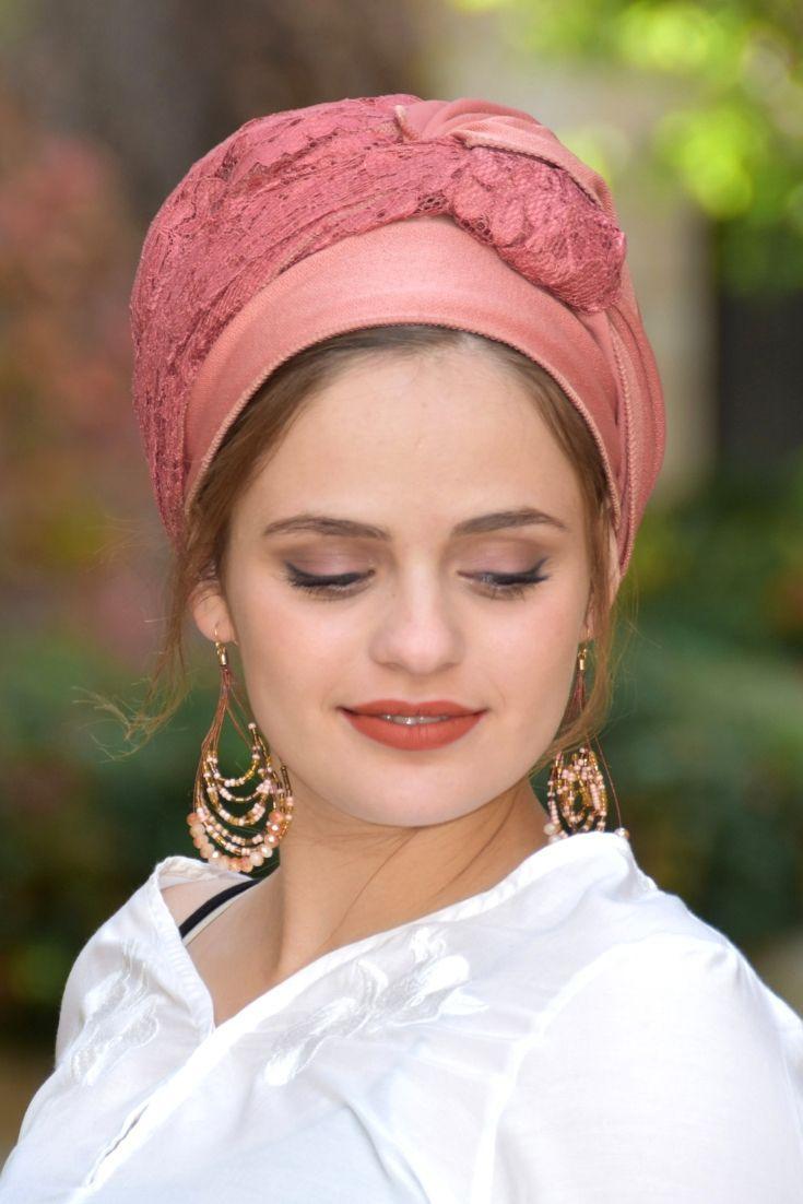 Rose Dream Gorgeous Headscarf TICHEL, Hair Snood, Head Scarf, Head Covering, Jewish Headcovering, Scarf, Bandana, Pashmina