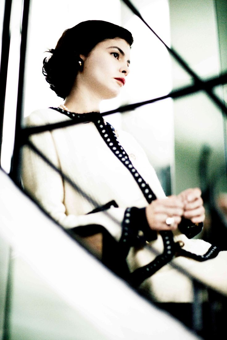 Audrey Tautou as Coco Chanel in 'Coco before Chanel'.