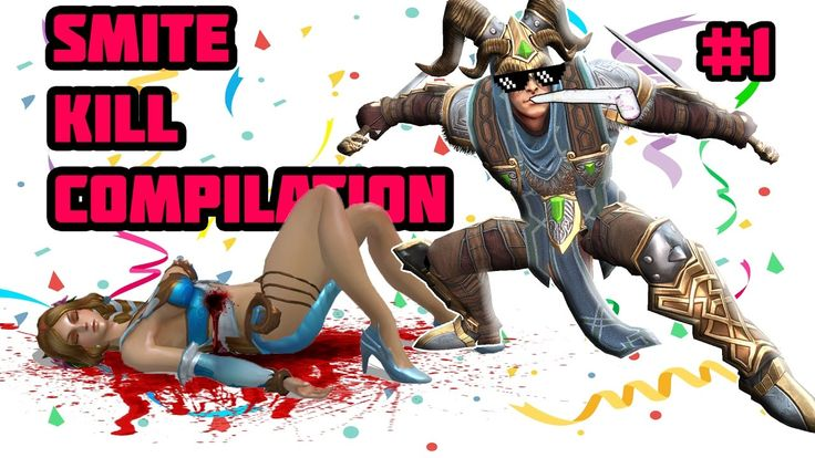 Smite Kill Compilation and Funny Moments Loki #1