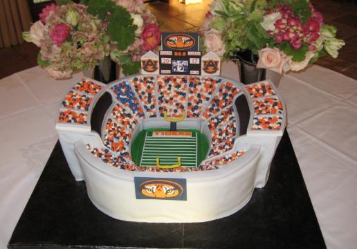 Jordan-Hare Stadium Groom's Cake