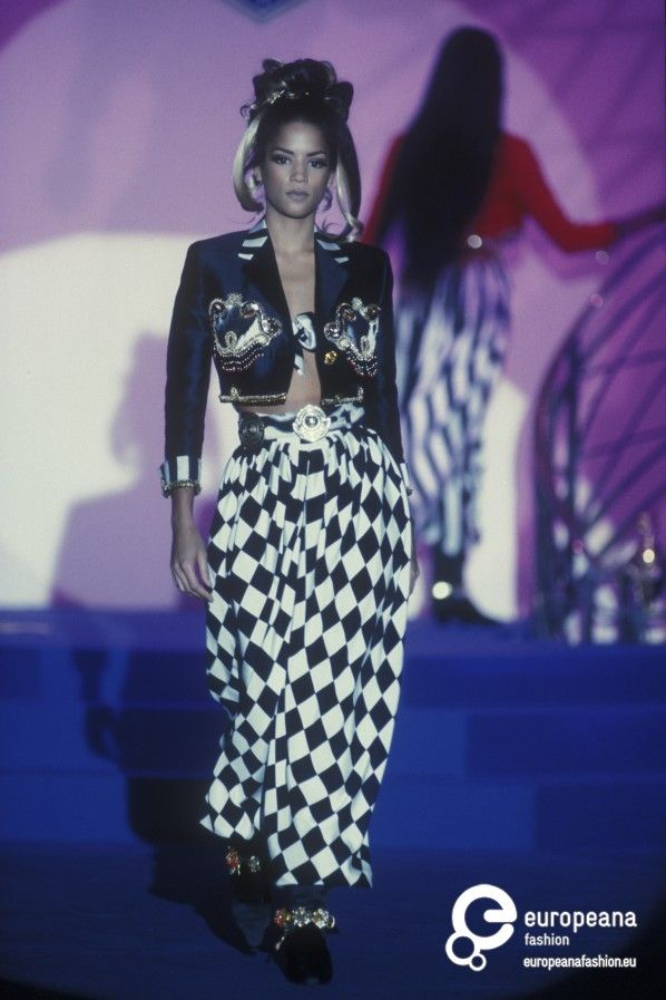 gianni_versace couture Spring 1992