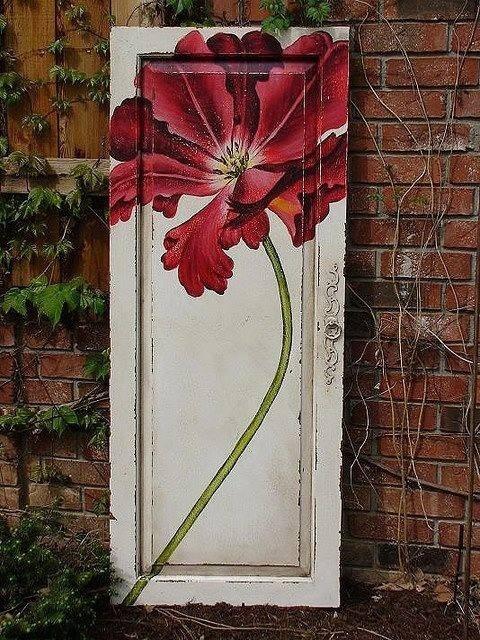 Painted Old Door