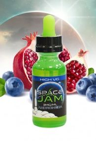 Space Jam Andromeda Review: Yum! The flavors are great, and they're bold when mixed with the huge vapor plumes present. Find out more at the mentioned link.   #SpaceJamAndromedaReview