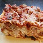Homemade Pork Lasagna