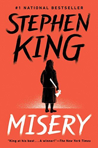 Stephen King's classic book, Misery, makes our list of his scariest reads for Halloween.
