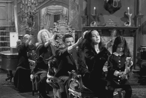 animated GIF addams family | Addams Family Follicles