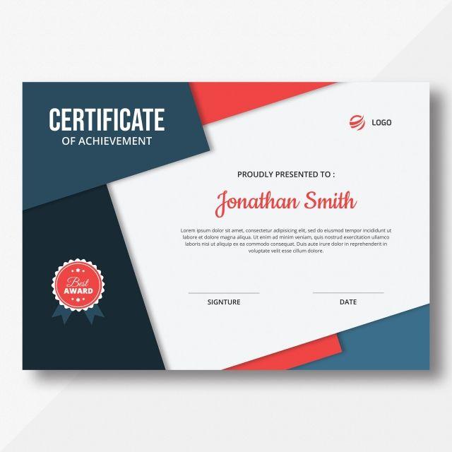 Sijil Template Certificate Templates Certificate Design Template Certificate Design