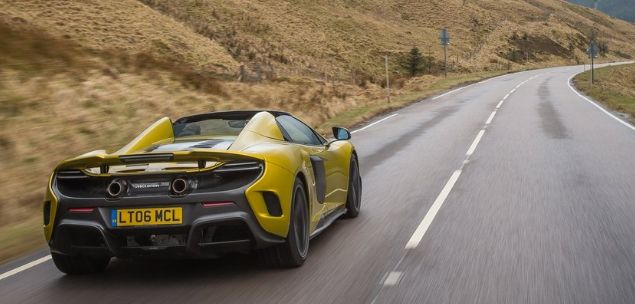 2017 McLaren 675LT Spider Exterior, Interior and Powertrain - New Car Rumors