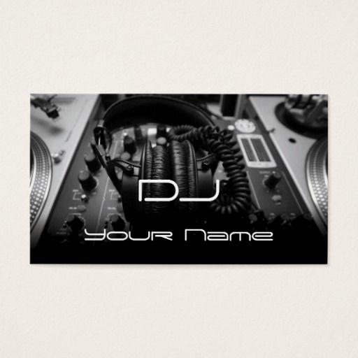 303 best dj business cards images on pinterest lyrics text dj business card colourmoves