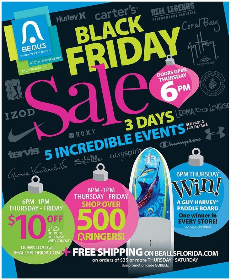 Bealls Department Stores 2015 Black Friday Ad...check out the 48 pages of #BlackFriday deals.
