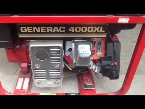 Generac 4000xl Generator Oil Change | Standby Powersource | Oil