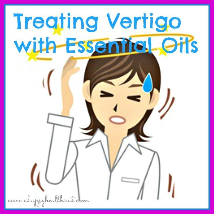 Treating Vertigo with Essential Oils