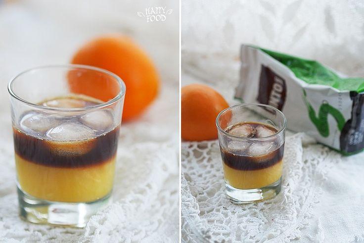 """Кофейно-апельсиновый коктейль """"шмель"""" : my_happyfood"""