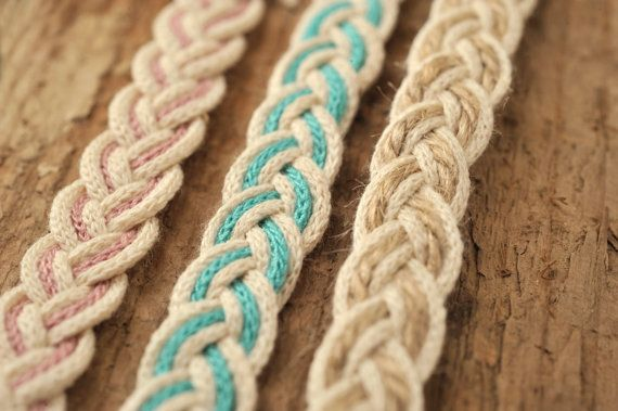 12mm  3 m Cotton Braid by CraftWanted on Etsy