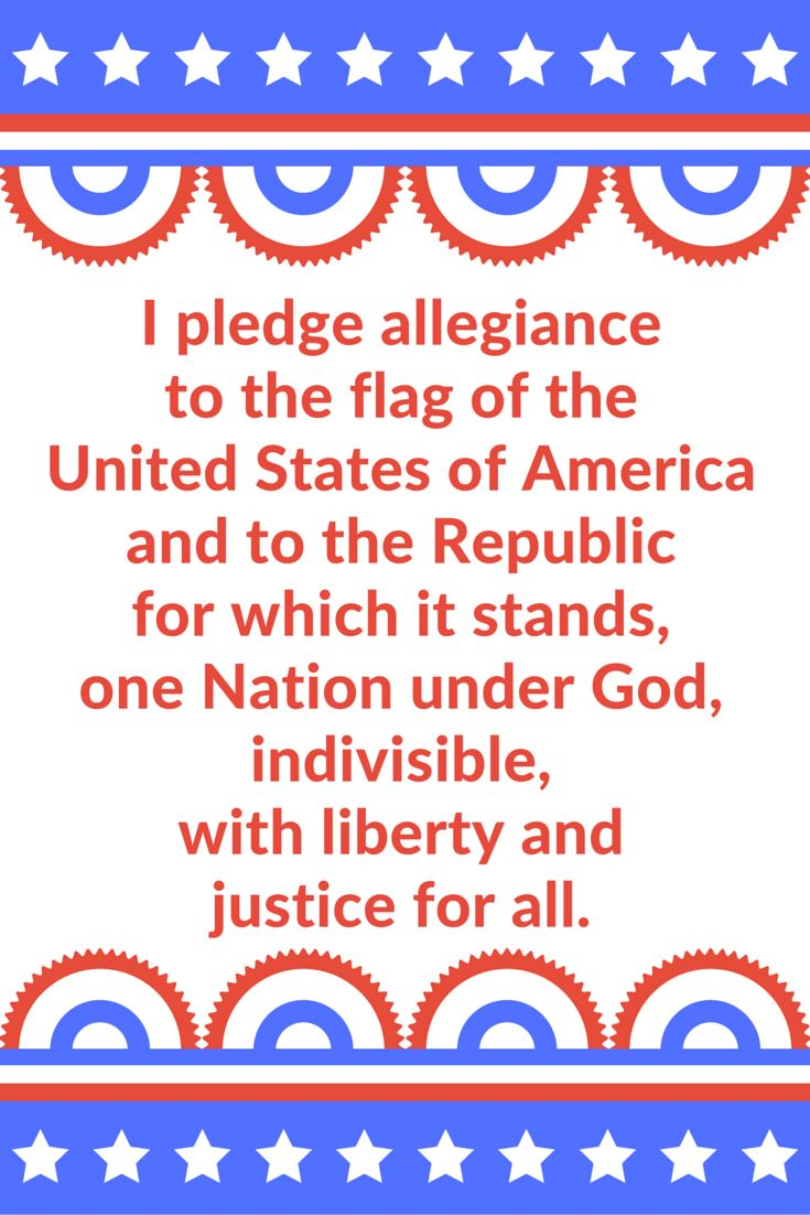 i pledge to read the printed In a nutshell: print it for yourself, or to give as a gift, but don't redistribute it or sell it in any way it's my gift to you how to download the free printable pledge of allegiance:.
