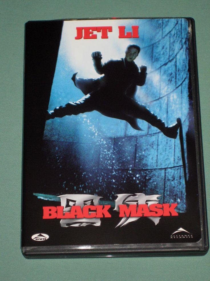 Black Mask DVD 1996 karate movie (Eng 1999 WS) Jet Li /John DeMita (Eng voicing) | eBay