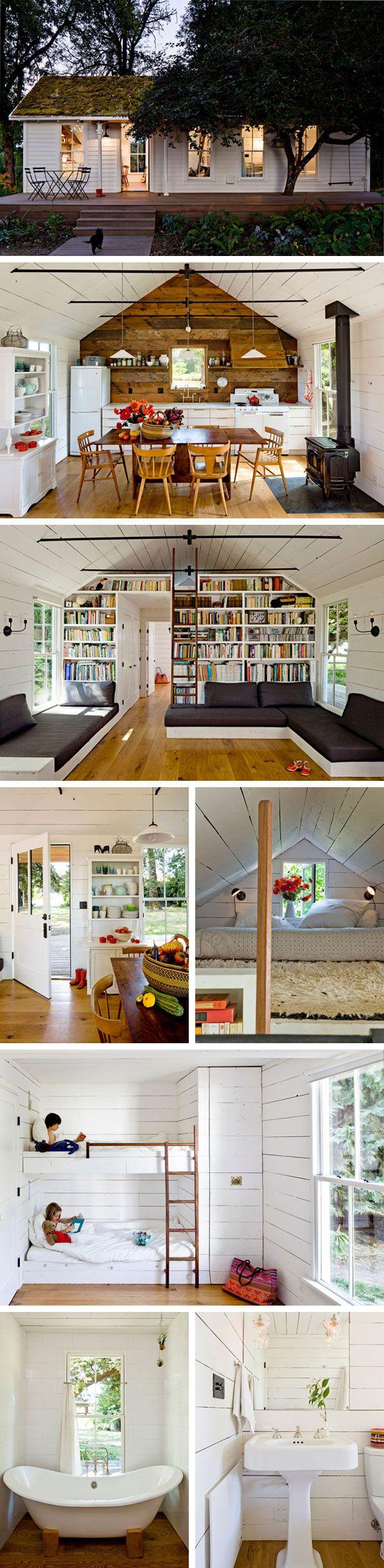 Маленький дом на берегу от Jessica Helgerson  #tinyhomesdigest #tinyhouse #smallhouse #ecohouse #countrylife