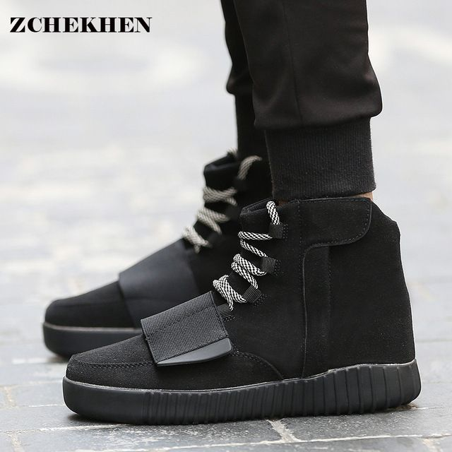 Good price 2017 Fashion spring Tactical kanye Star Boots unisex Shoes Platform  hip hop Shoes Lace Up Ankle Boots For West military boots just only $38.00 with free shipping worldwide  #womenshoes Plese click on picture to see our special price for you