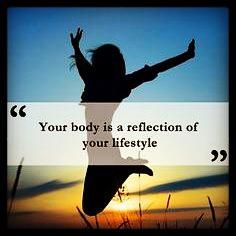 Our lifestyle reflects our habits of eating and physical movement!  #WOLO       #Lifestyle www.facebook.com/weightofflifeon