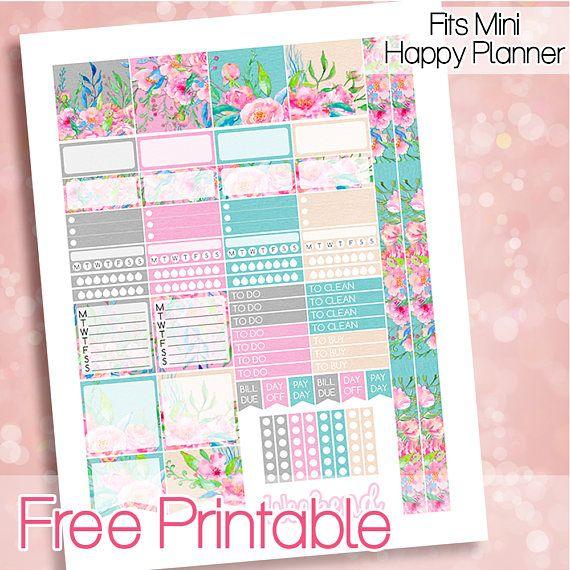 Free Printable June  Planner Stickers {download link in description}