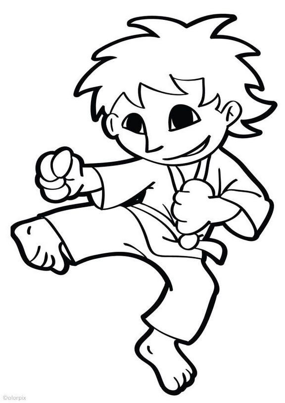 Pin By Sue Stenzel On Karate Coloring Pages Martial Arts Themes Coloring Pages Cartoon Coloring Pages Zoo Coloring Pages