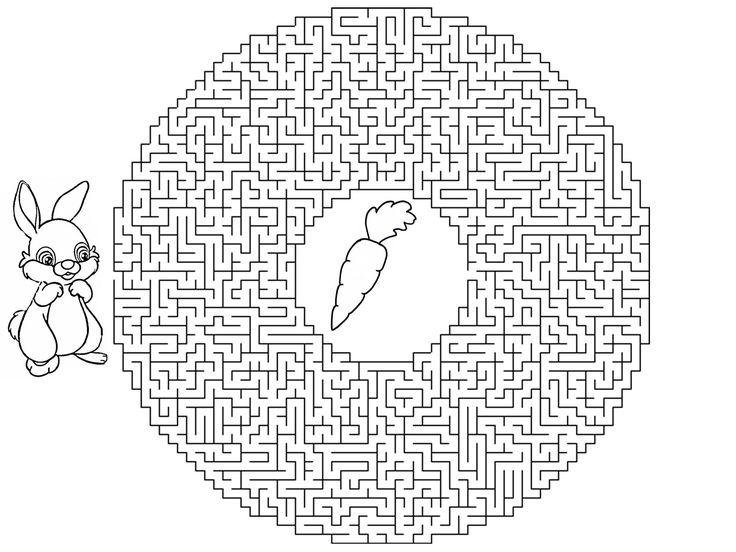 Картинки по запросу лабиринт черно-белый детям сложный картинка