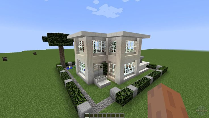 Tiny Modern House Minecraft maps for minecraft - small modern house [1.8][1.8.8] free download