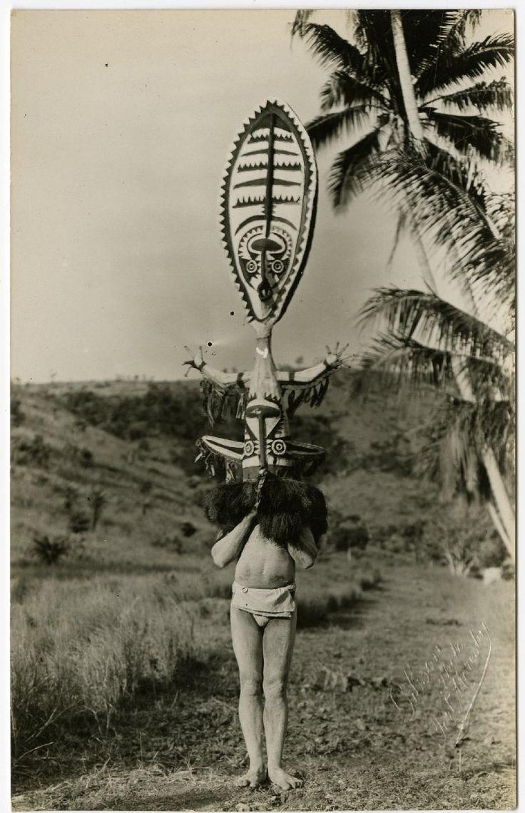 Papua New Guinea, Purari Delta;1900-1930. (via British Museum)