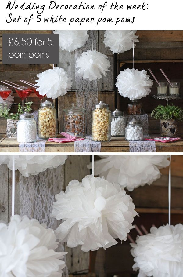paper pom pom wedding decorations 17 best images about paper pom poms on hanging 6373