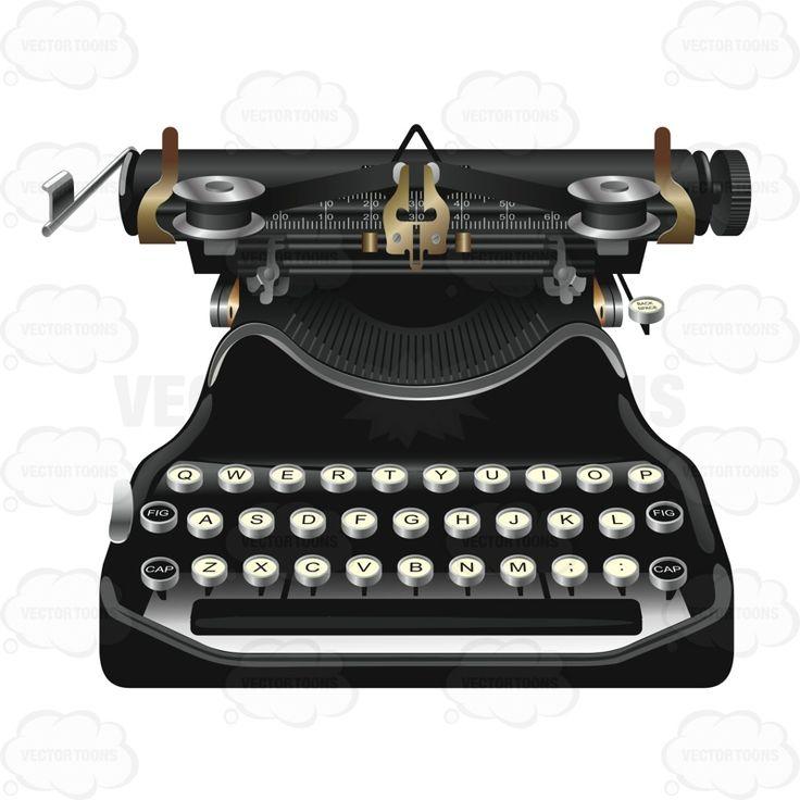 Vintage Looking Typewriter #choice #classic #classical #mature #old #rare #retro #typewriter #typing #vintage