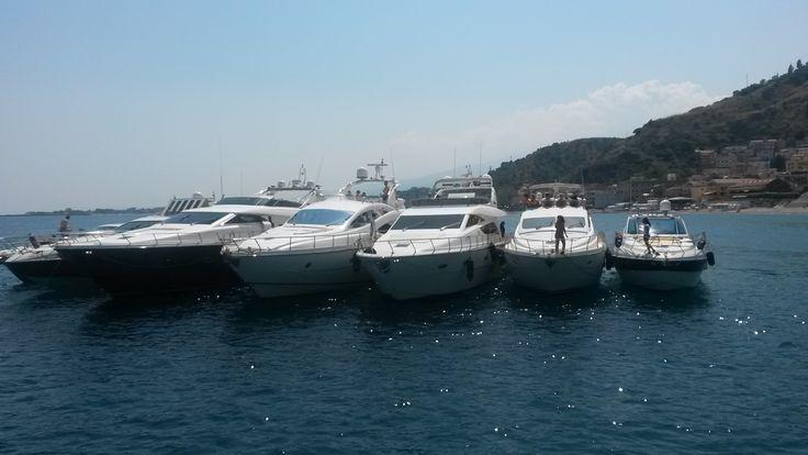 The Fleet #Sicily #Yacht #Luxury #Cruise